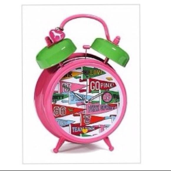 RARE! Victoria's Secret PINK alarm clock NWT